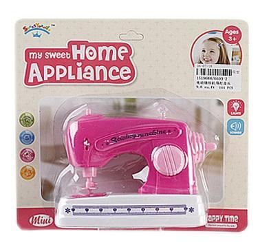 Купить Швейная машинка Best toys швейная машинка со звуком и светом, розовый, Детская бытовая техника