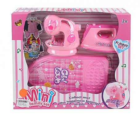 Купить Набор бытовой техники Best toys Набор бытовой техники со звуком и светом, розовый, Детская бытовая техника