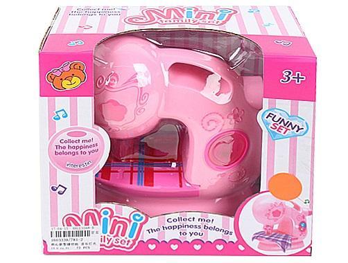 Купить Швейная машинка Best toys Швейная машина со звуком и светом, розовый, Детская бытовая техника