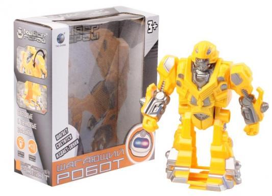 Робот Best toys Кибер герой 20 см светящийся со звуком двигающийся боевой робот shantou gepai воин галактики 30 см двигающийся со звуком светящийся 6007