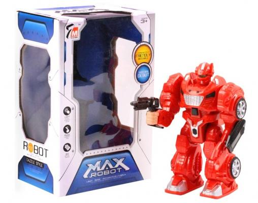 Фото - Робот на батарейках Best toys Робот 24 см со звуком светящийся двигающийся стреляющий робот радиоуправляемый shantou gepai arras police светящийся со звуком стреляющий