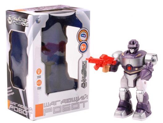 Робот на батарейках Best toys Робот 23.5 см двигающийся со звуком светящийся боевой робот shantou gepai воин галактики 30 см двигающийся со звуком светящийся 6007