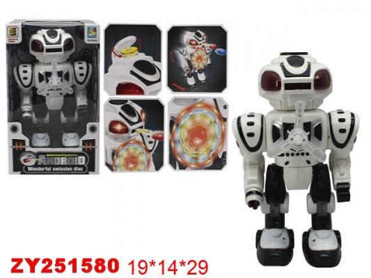 Робот на батарейках Best toys Робот 29 см светящийся стреляющий