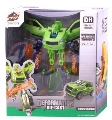 Робот-трансформер Best toys Машинка 29 см город игр робот трансформер hot wings машинка жук
