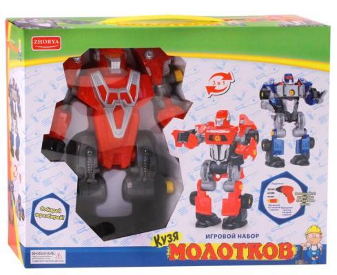 Робот-трансформер Best toys Робот-трансформер 3 в1 35 см светящийся garden toys качели 2 в1 10960