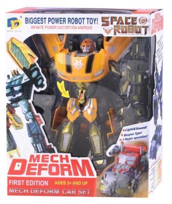 Робот-трансформер Best toys Робот 27.5 см со звуком светящийся боевой робот shantou gepai воин галактики 30 см двигающийся со звуком светящийся 6007