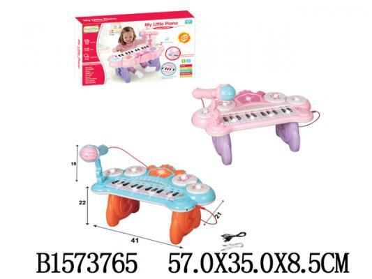 Купить Пианино-караоке best toys Пианино с микрофоном, в ассортименте, Детские музыкальные инструменты