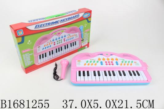 Купить Синтезатор best toys Синтезатор с микрофоном, разноцветный, Детские музыкальные инструменты