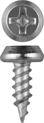 Саморезы КЛМ-Ц для листового металла, 11 х 3.5 мм, 1 200 шт, оцинкованные, ЗУБР саморезы универсальные 20х4 0 мм оцинкованные 200 шт