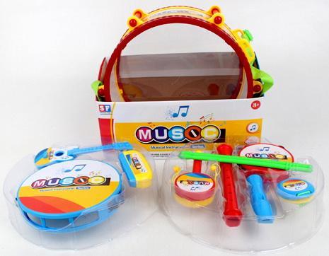 Набор Музыкальные инструменты, в/к 31*12,5*28 см детские музыкальные инструменты huile plastik toys ксилофон с молоточком и шарами y61066