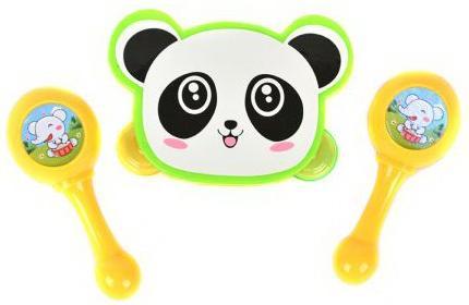 Набор Музыкальные инструменты, в/п 23,5*12,5*4 см детские музыкальные инструменты huile plastik toys ксилофон с молоточком и шарами y61066