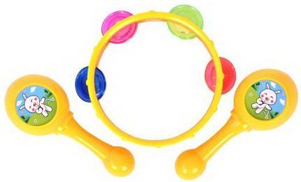 Набор Музыкальные инструменты, в/п 23*20 см детские музыкальные инструменты huile plastik toys ксилофон с молоточком и шарами y61066