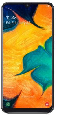 Смартфон Samsung Galaxy A30 32 Гб черный (SM-A305FZKUSER) смартфон samsung galaxy j1 2016 8 гб черный sm j120fzkdser