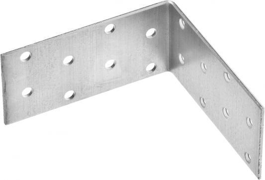 Уголок крепежный равносторонний УКР-2.0, 40х80х80 х 2мм, ЗУБР крепежный уголок госкрепеж равносторонний 50 х 50 х 40 мм 12 шт