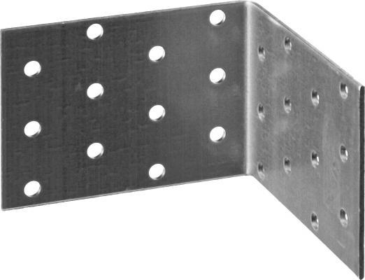Уголок крепежный равносторонний УКР-2.0, 60х80х80 х 2мм, ЗУБР уголок крепежный равносторонний masterprof 40х40х20х2мм уп 40 шт