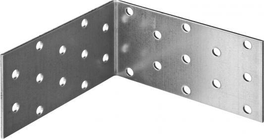 Уголок крепежный равносторонний, 50х100х100 х 2мм, 50 шт, ЗУБР уголок крепежный равносторонний masterprof 40х40х20х2мм уп 40 шт