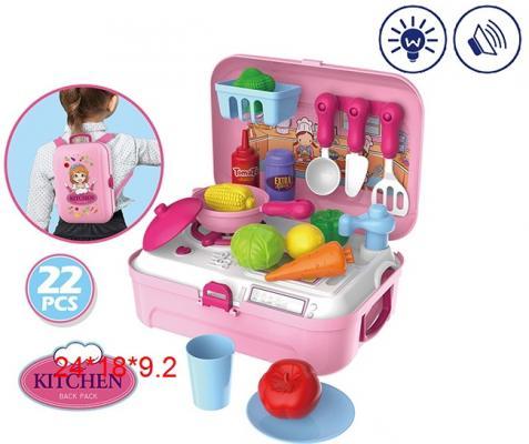 купить Игровой набор Кухня, чемодан 24*18*9,2 см недорого
