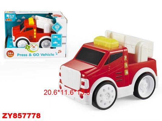 Купить Пожарная машина best toys Пожарная служба разноцветный, Игрушечные машинки