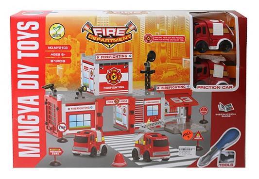 Игровой набор best toys Пожарная станция 91 предмет игровой набор miles страус мерк 1 предмет 86104