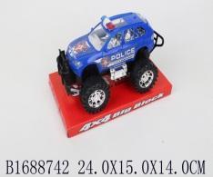 Джип best toys Полиция синий джип полиция