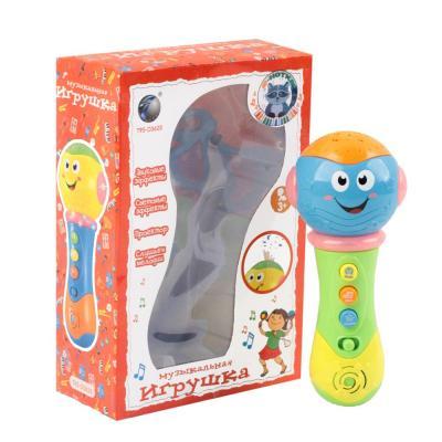 Купить Микрофон best toys Е-нотка, разноцветный, Детский микрофон