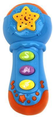 Купить Микрофон best toys Потеша, разноцветный, Детский микрофон