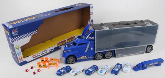 Набор машинок best toys Фура разноцветный игрушка dickie toys набор машинок 3745000