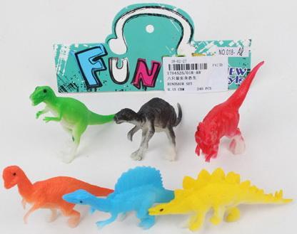 Набор Динозавров, в/п 10*2*5 см
