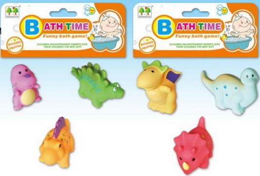 Купить Набор игрушек для купания Динозавры (3 шт. на набор.) в/п 9*4*5, 5 см, best toys, в ассортименте, Игрушки для купания
