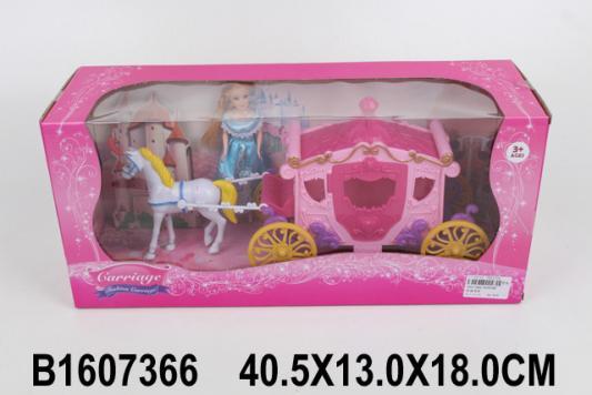 Игровой набор best toys Карета с лошадкой и куклой steffi игровой набор кукла с лошадкой