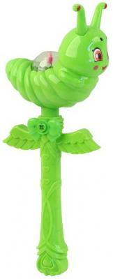 Купить Палочка Гусеница на бат. звук. эффект., в/п 13*8*34 см, best toys, зелёный, пластик, унисекс, Игрушки со звуком