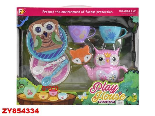 Купить Набор посуды Best toys Чаепитие , пластик, разноцветный, Игрушечная посуда