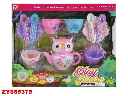 Купить Набор посуды Best toys Чаепитие пластик, разноцветный, Игрушечная посуда