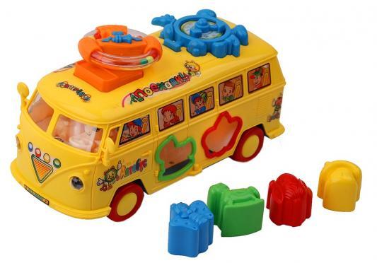 Купить Автобус best toys Автобус желтый, Детские модели машинок