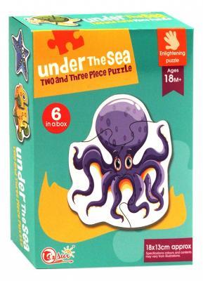 Купить Пазл best toys Животные 6 элементов, Пазлы для малышей