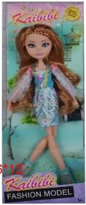 Купить Кукла с аксессуарами, шарнирные руки и ноги, в/к 31*6*12 см, KAIBIBI, 27 см, пластик, текстиль, Классические куклы и пупсы