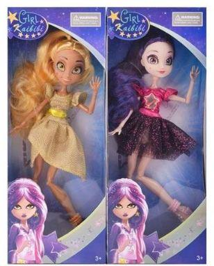 Купить Кукла с аксессуарами, шарнирные руки и ноги, высота 27 см., в/к 12*31*5 см, KAIBIBI, пластик, текстиль, Классические куклы и пупсы