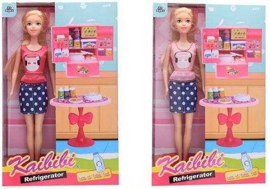 Фото - Кукла, в комплекте продукты и мебель для кухни, в ассорт., в/к 20,3*32*6,8 см мебель для кухни