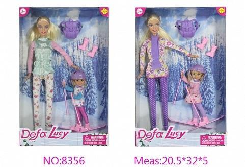 Купить Кукла Defa Кукла 29 см, пластик, Классические куклы и пупсы