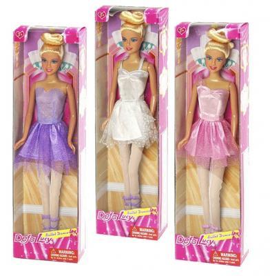 Кукла Defa Балерина 29 см шарнирная, пластик, Классические куклы и пупсы  - купить со скидкой