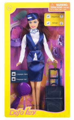 Кукла Defa Кукла-стюардеса 30 см гнущиеся кукла defa кукла 23 см