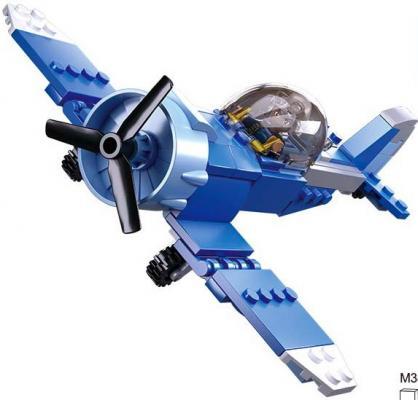 Конструктор SLUBAN Армия. Самолет 129 элементов цена