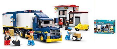 Конструктор SLUBAN Грузовик 537 элементов конструктор металлический грузовик и трактор 345 элементов