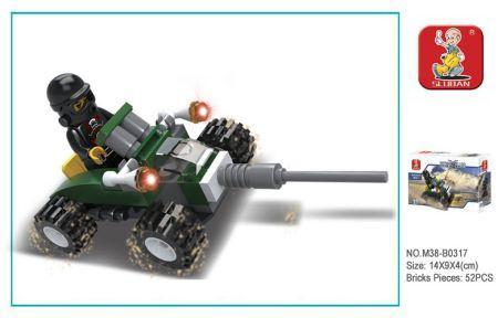 Конструктор SLUBAN Машина 48 элементов конструктор sluban машина 48 элементов