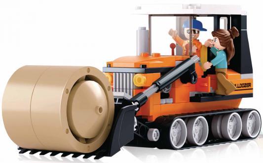 Конструктор SLUBAN Трактор 165 элементов конструктор металлический грузовик и трактор 345 элементов