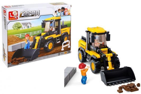 Конструктор SLUBAN Трактор 212 элементов конструктор металлический грузовик и трактор 345 элементов