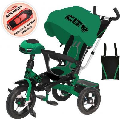 Купить Велосипед CITY трёхколёсный 12*/10* синий, Детские трехколесные велосипеды