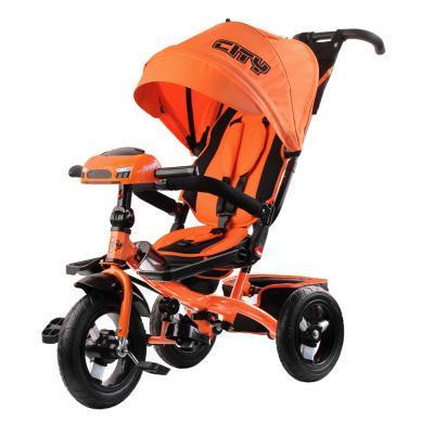 Велосипед CITY City H5 12*/10* оранжевый цена