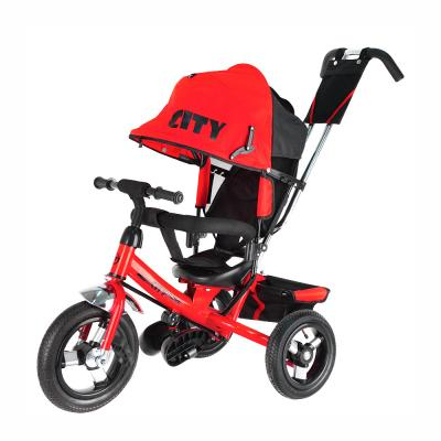 Велосипед-коляска CITY City JD7 12*/10* красный
