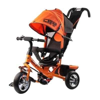 Велосипед-коляска CITY City JD7 10/8 оранжевый цена